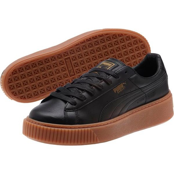 the latest 5f441 f0233 PRICE FIRM • PUMA Basket Platform Core Sneakers